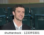 "Justin Timberlake at the premiere of his movie ""Trouble With The Curve"" at the Mann Village Theatre, Westwood. September 19, 2012  Los Angeles, CA Picture: Paul Smith - stock photo"