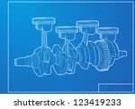 engine | Shutterstock .eps vector #123419233