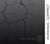 asphalt  cracked road dark...   Shutterstock .eps vector #123459817