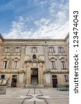 Small photo of The Vilhena Palace forecourt in Mdina, Malta