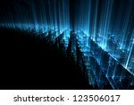 abstract science or technology... | Shutterstock . vector #123506017