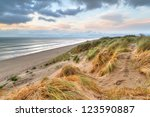 Rossbeigh Beach Dunes At Sunse...