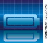 vector. battery. | Shutterstock .eps vector #123614893