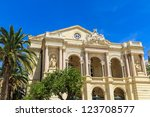 Toulon Opera House, Provence, France - stock photo