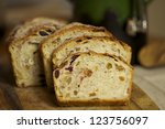 Homemade Bread With Dry Fruits...