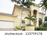 Stock image of a luxurious Single Family Home - stock photo