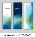 set of banners. vector... | Shutterstock .eps vector #123763483
