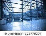 image of windows in morden... | Shutterstock . vector #123775207