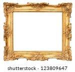 Old Golden Frame. Beautiful...
