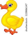 Funny Duck Cartoon