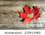 Maple Leaf To Cut The Heart On...