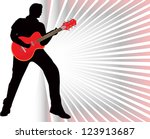 guitarist | Shutterstock .eps vector #123913687