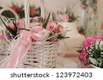 Floral Decoration On The Table
