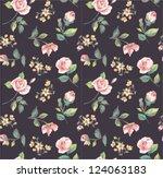 seamless wallpaper classics ... | Shutterstock .eps vector #124063183