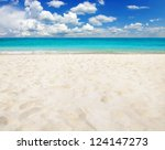 tropical sea | Shutterstock . vector #124147273
