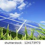 power plant using renewable... | Shutterstock . vector #124173973