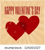 vintage style design for... | Shutterstock .eps vector #124201327