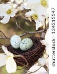 Painterly  Image Of Two Eggs I...