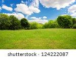 spring nature landscape | Shutterstock . vector #124222087