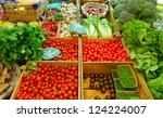 Vegetables For Sale In A Marke...