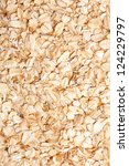 Oatmeal Golden Background Clos...