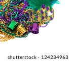 Assorted Colored Mardi Gras...