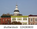 Colorful Buildings In The...