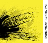 yellow grunge background with