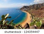 View Of Las Teresitas Beach ...