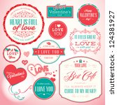 set of badges and elements for... | Shutterstock .eps vector #124381927