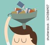 knowledge | Shutterstock .eps vector #124386907