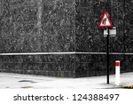 Danger Senior Crossing Sign On...
