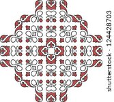 ornament card  backgrounds | Shutterstock .eps vector #124428703