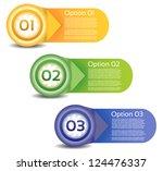 vector progress background  ... | Shutterstock .eps vector #124476337