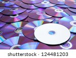A Blank And Unlabeld Dvd Atop ...