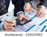 accounting. | Shutterstock . vector #124525963