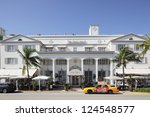 MIAMI - JANUARY 12: The Betsy Ross was built in 1920 and in 1942 was host to stationed us troops during WWII January 12, 2013 in Miami, Florida. - stock photo