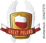 polish crest | Shutterstock . vector #124627273