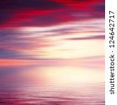 Abstract Sunrise Seascape...
