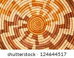 Colorful Native American Woven Background Pattern - stock photo