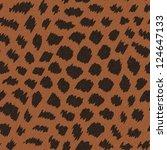 abstract decorative leopard... | Shutterstock .eps vector #124647133