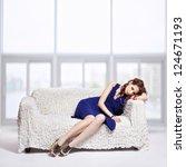 full length portrait of... | Shutterstock . vector #124671193