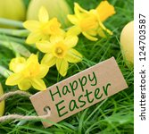 Happy Easter  Label