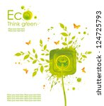 energy concept.illustration... | Shutterstock . vector #124725793