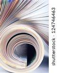 magazine macro | Shutterstock . vector #124746463