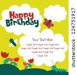 Cute Card With Fun Insects....