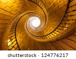 Helical Staircase In Santo...