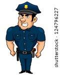 illustration of policeman...