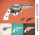 revolver | Shutterstock .eps vector #124797397