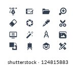graphic design icons | Shutterstock .eps vector #124815883